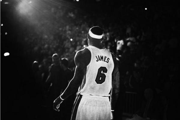 Many local Miami Heat fans treasure their LeBron James' No. 6 jersey.