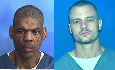 Inmate Darren Rainey, left, died in an excruciatingly hot shower as alleged punishment for defecating in his cell. A whistleblower suit filed this week concerns the death of inmate Randall Jordan-Aparo, right, imprisoned for credit card fraud and drug charges, who died after being repeatedly gassed by prison guards.