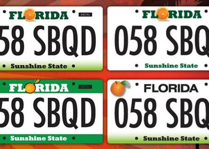 Florida Drivers To Pay Less In License Plate Fees Wlrn