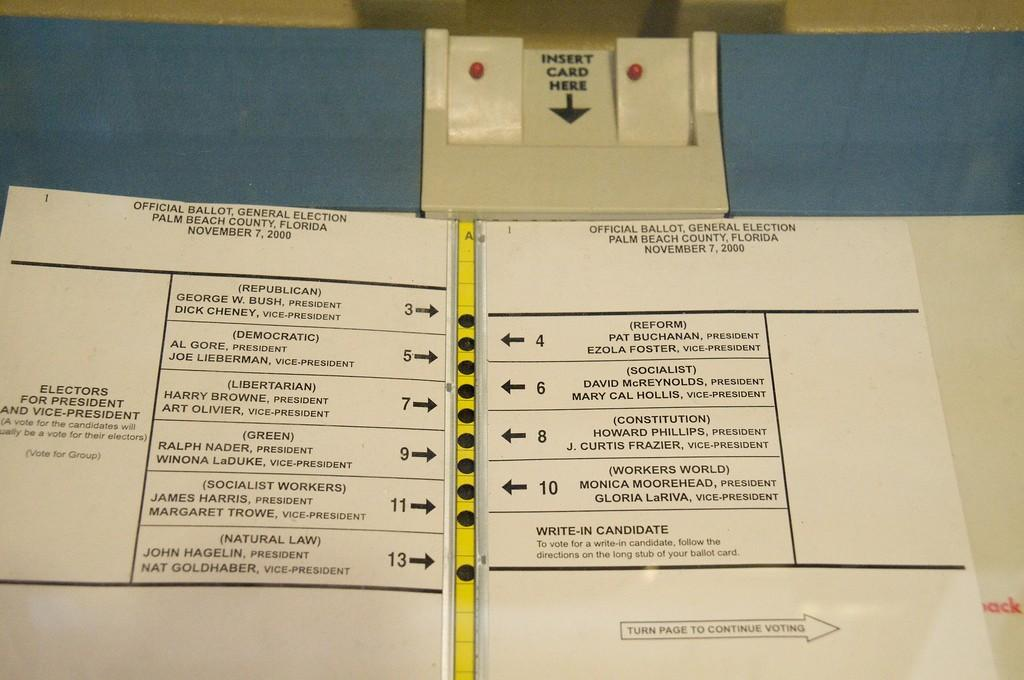 "Elections in Palm Beach County: The ""Butterfly Ballot"" Effect 