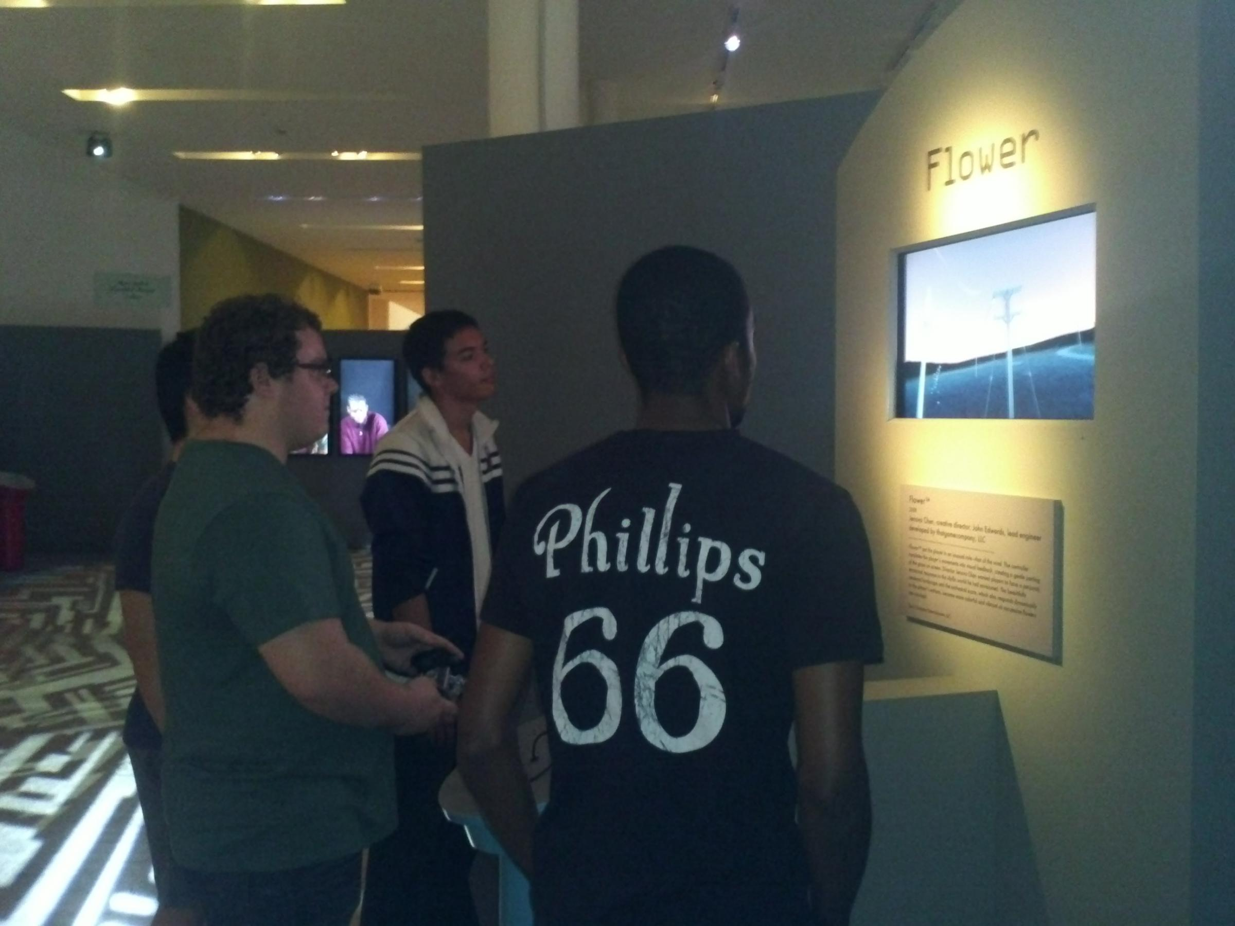 20 Year Old Jean Lapaix And His Friends Visited The Art Of Video Games Exhibit At Boca Raton Museum