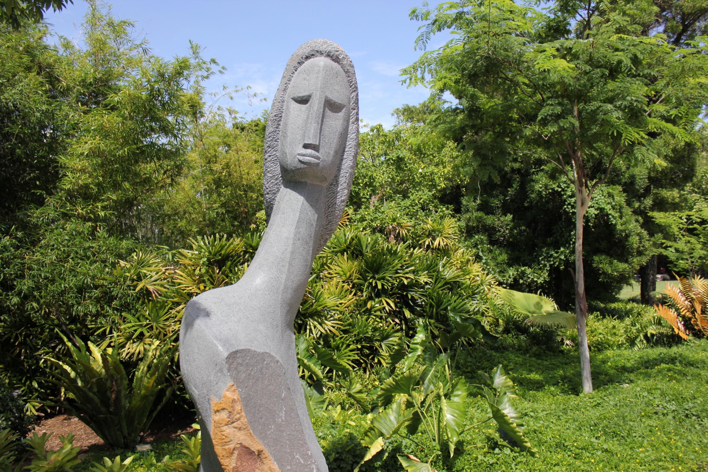 Miami Beach Botanical Garden Transformed Into African \'Sculpture ...