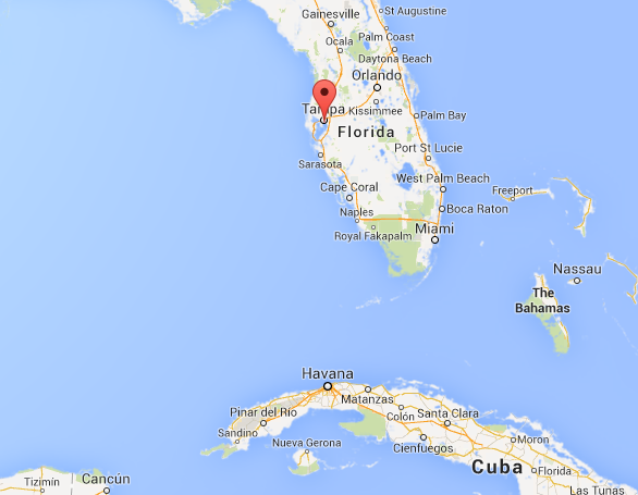 Map Of Florida And Cuba.Earthquake Off Cuba S Coast Felt In Key West Residents Not Rattled