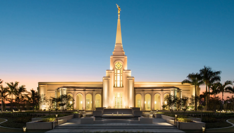 Take A Photo Tour Of South Floridas First Mormon Temple Wlrn