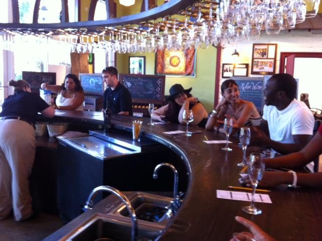 Customers Usually Show Up At The Tasting Bar Just Before Lunch Hour Schnebly Redland S Winery