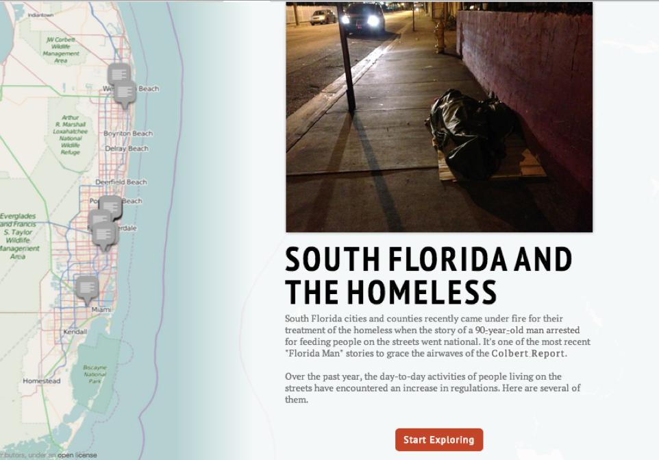 A List Of South Floridas Regulations On Homelessness Wlrn