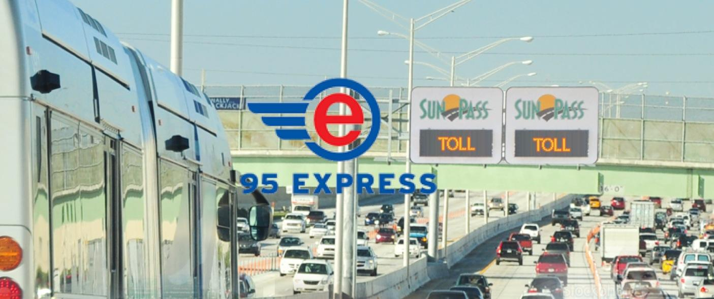 What To Expect From Browards Upcoming I Express Lanes WLRN - Florida map i 95