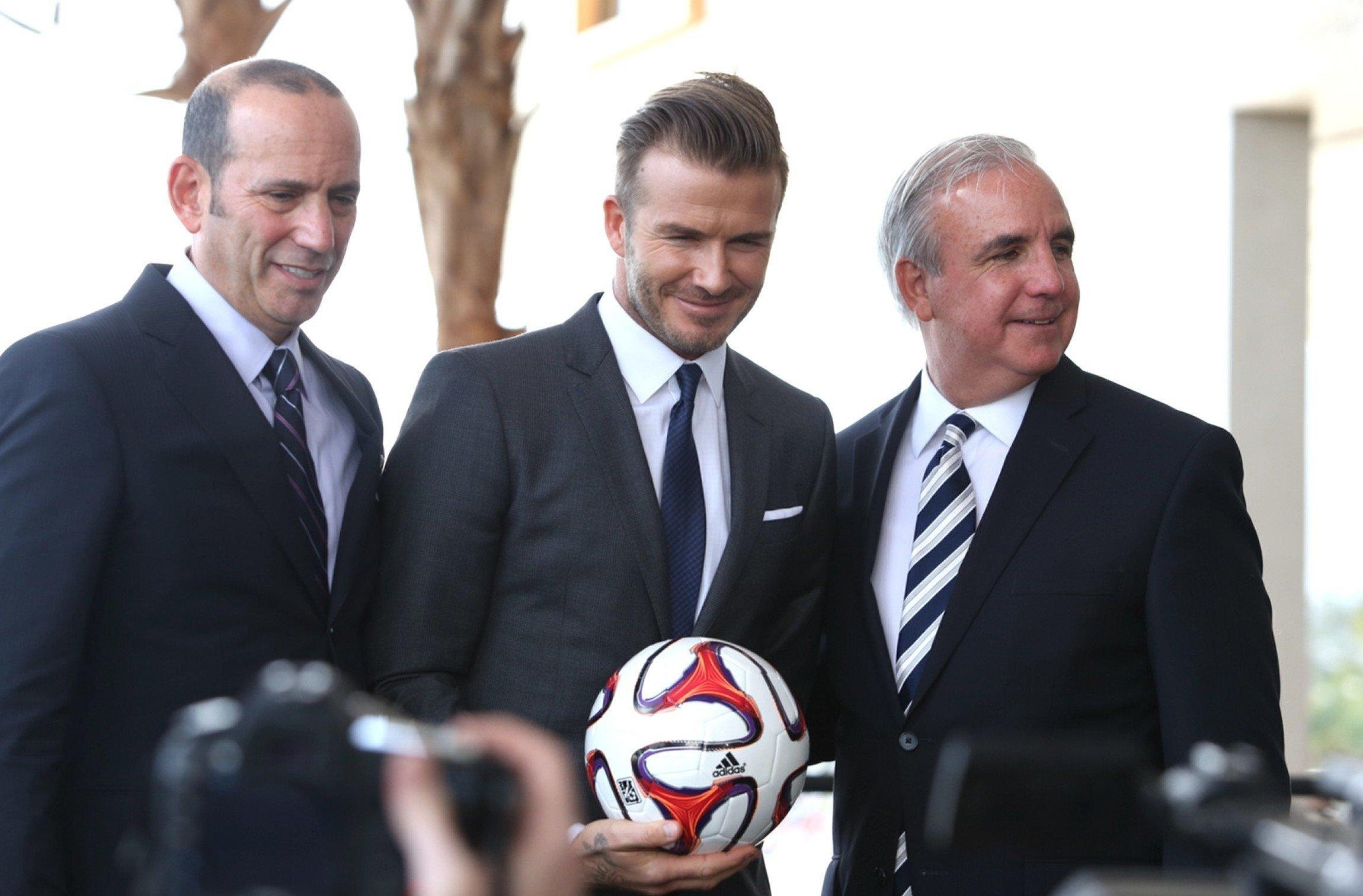 David Beckham Looks To An Unlikely Partner To Bring Soccer To Miami