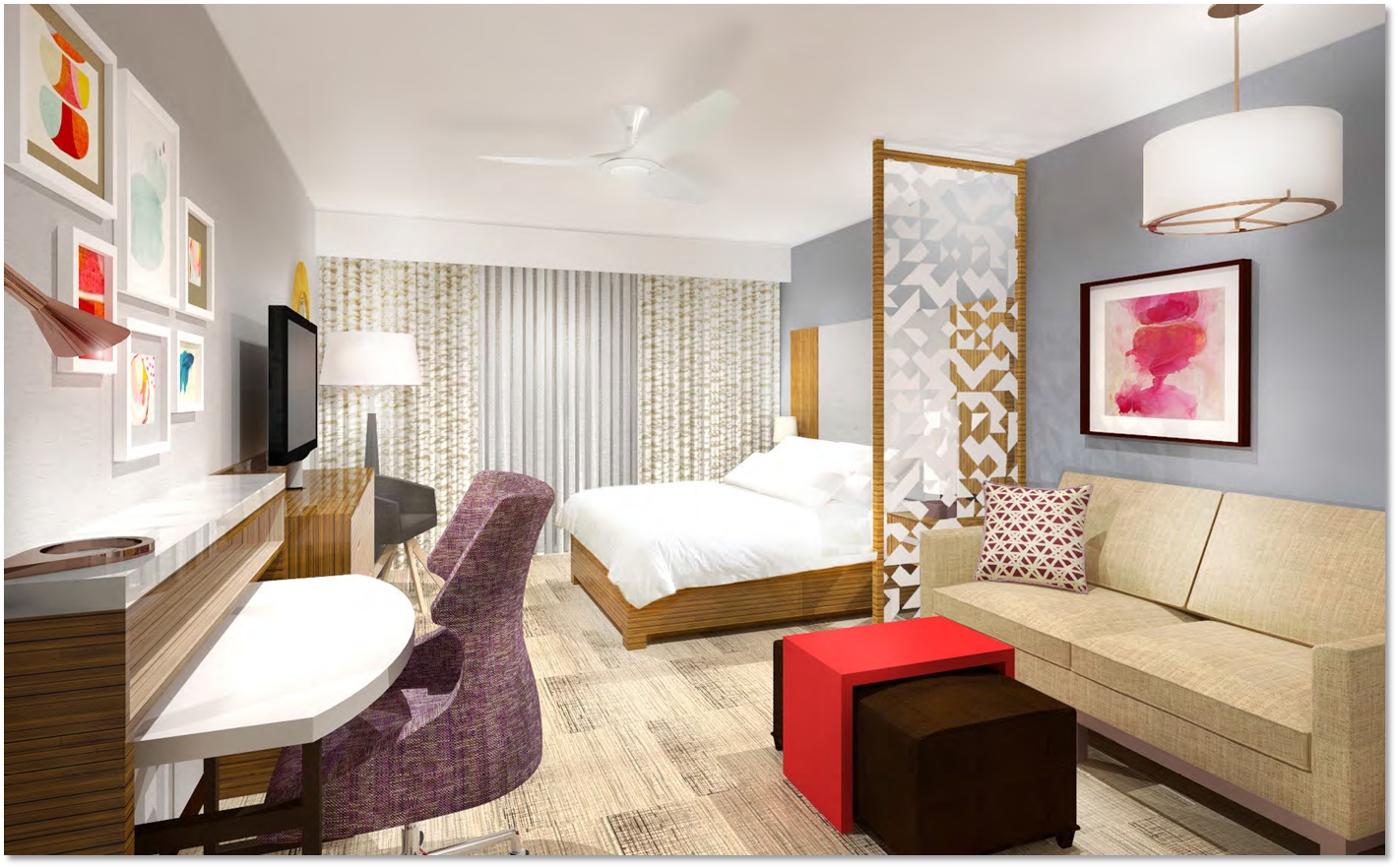 39 Tropicalized 39 Space U S Extended Stay Hotels Make A Push Into Latin America Wlrn