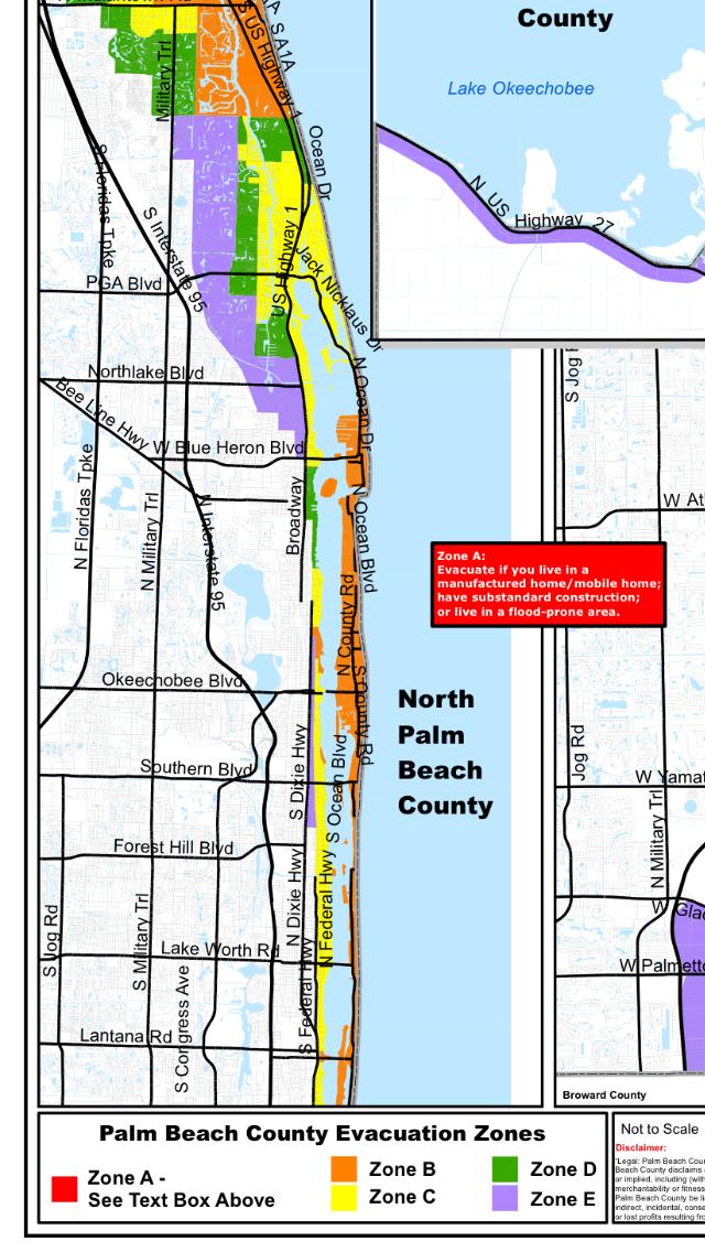 Delray Beach Florida Evacuation