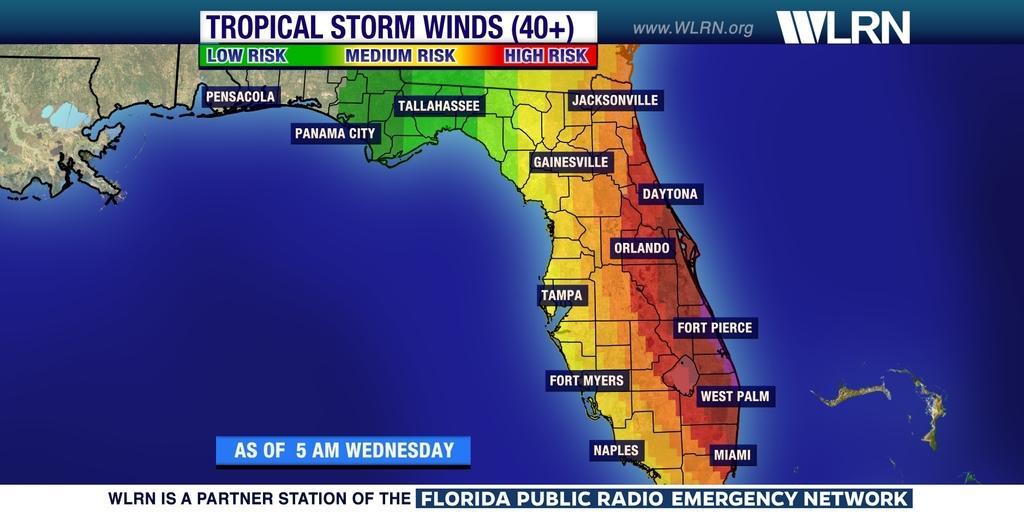 Hurricane Risk Map Florida.Florida Map Hurricane Risk Verkuilenschaaij
