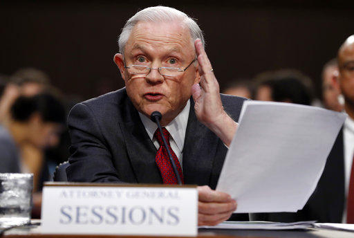 Sessions rejects hint of collusion with Russian Federation as 'detestable lie'