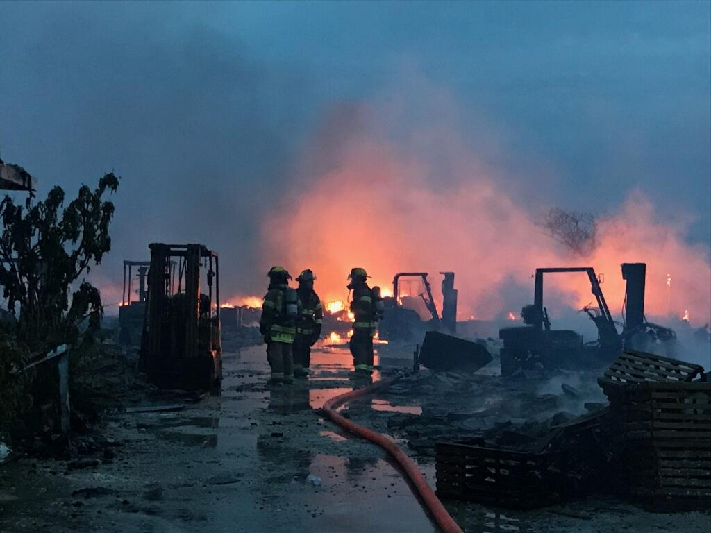 Major marina fire shuts down Overseas Highway in Keys