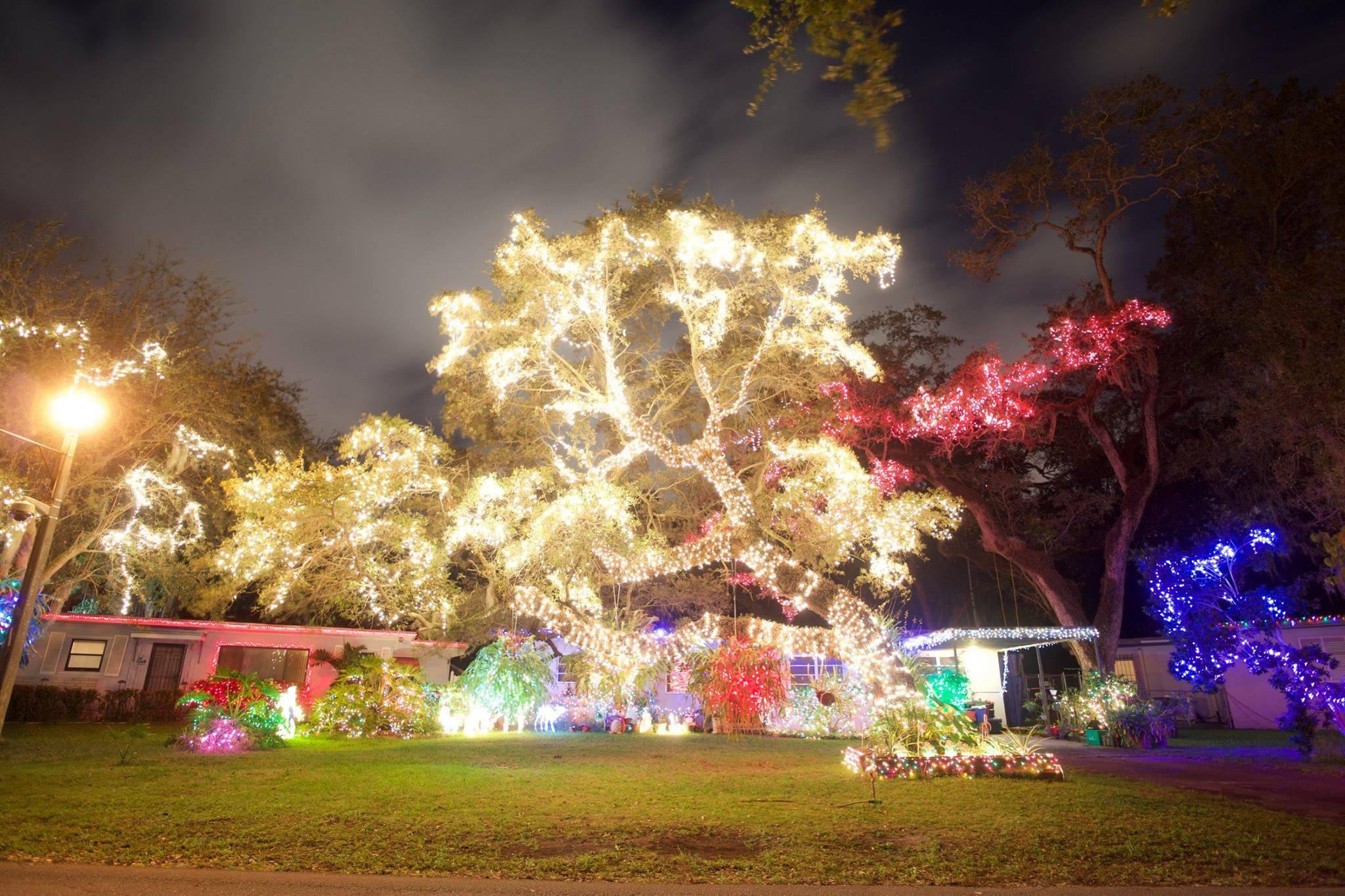 Tis The Season For South Florida Christmas Light Displays