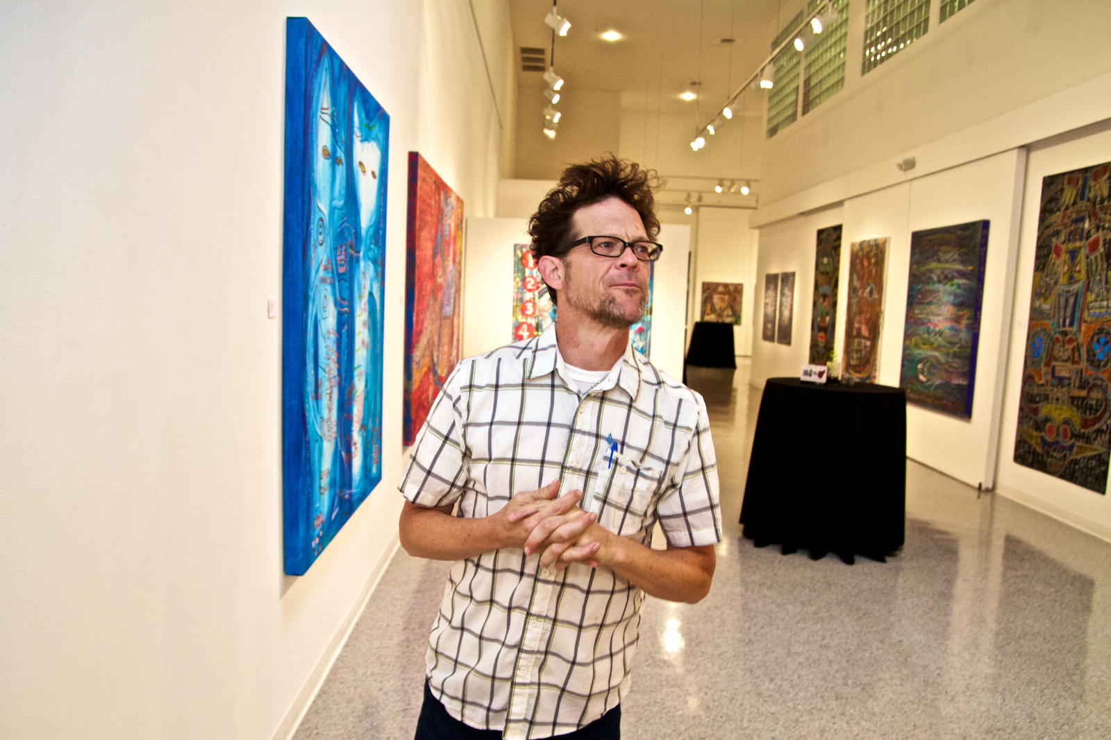 metallica bassist jason newsted shows art in lake worth the