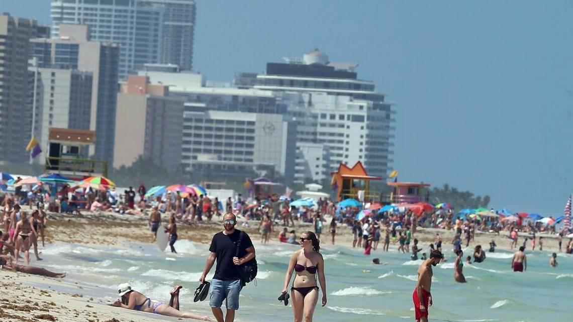 The National Weather Service Reported Tuesday That In 2017 Miami Tied Its 2015 Record For Hottest Year Ever Recorded