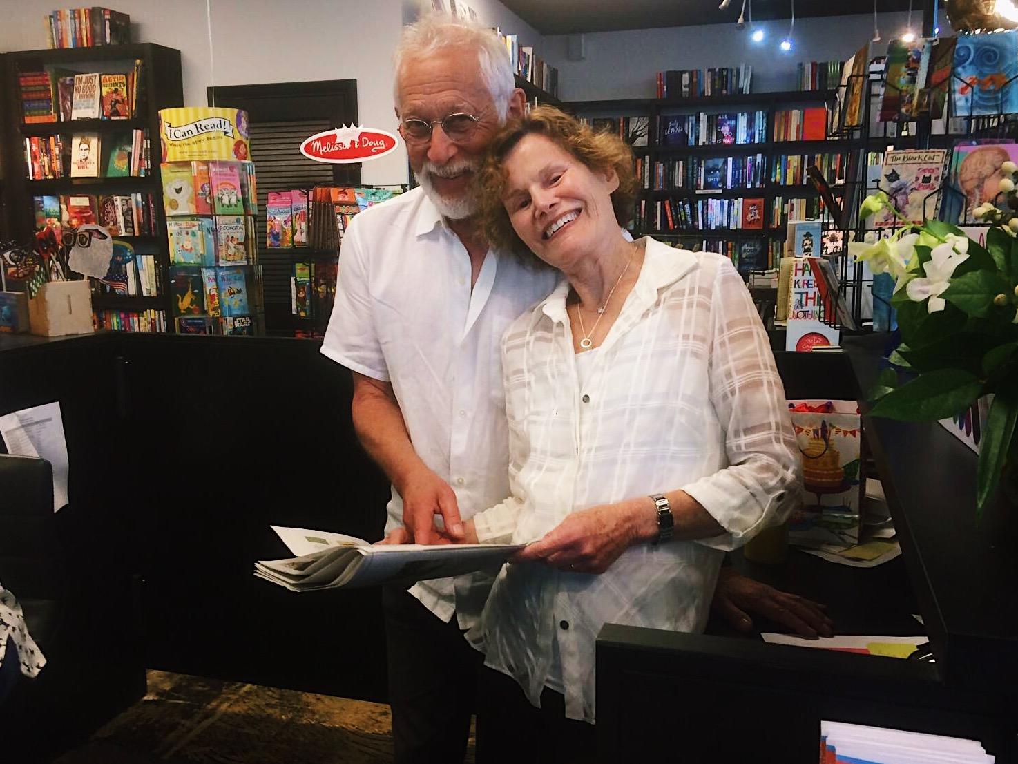 judy blume celebrates her 80th birthday at work in key west wlrn