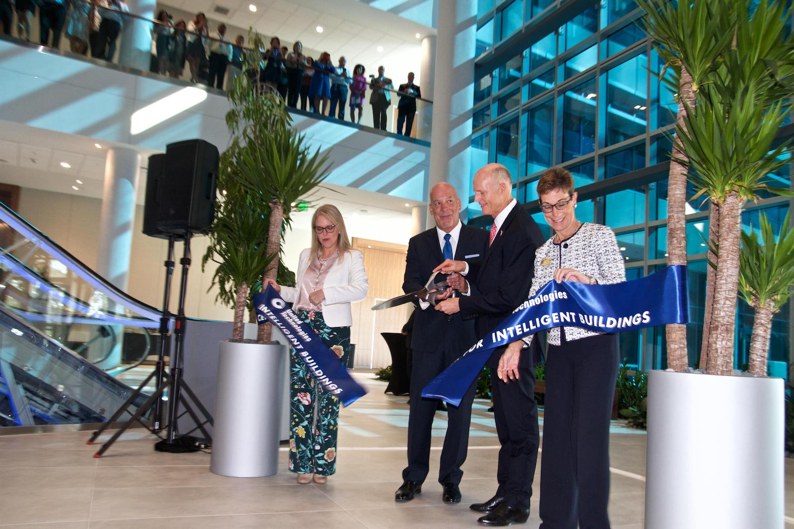 Superb Rick Scott Cuts The Ribbon At UTCu0027s Center For Intelligent Buildings In Palm  Beach Gardens On Apr. 17, 2018. Nice Design