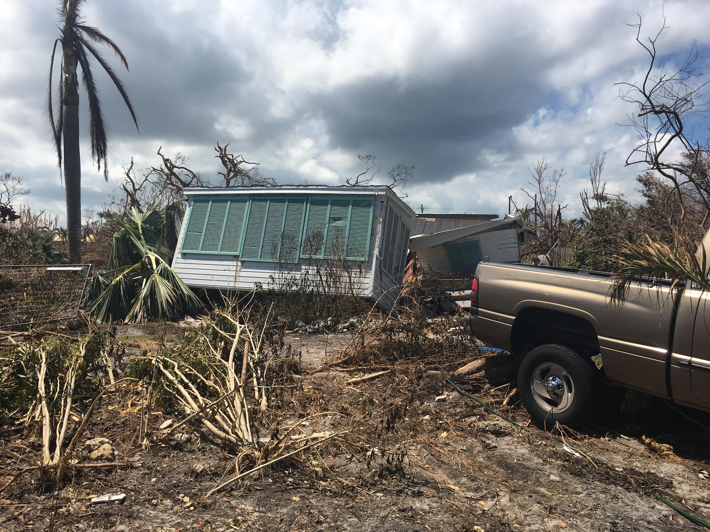 South florida residents reflect on lessons learned from hurricane big pine key in the lower florida keys experienced the brunt of hurricane irmas category 4 publicscrutiny Gallery