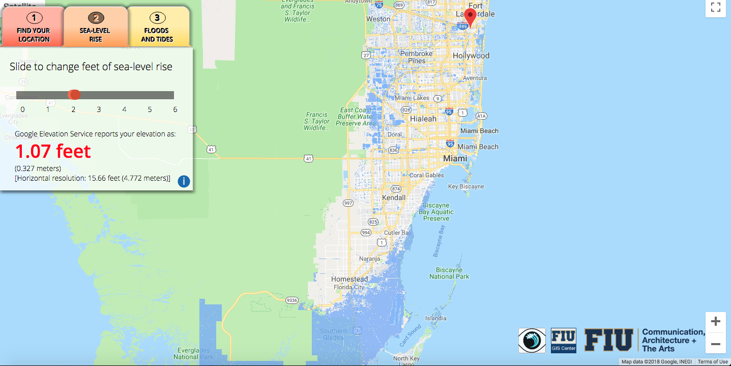 Will Flooding From Sea Level Rise Impact Your House This App Lets