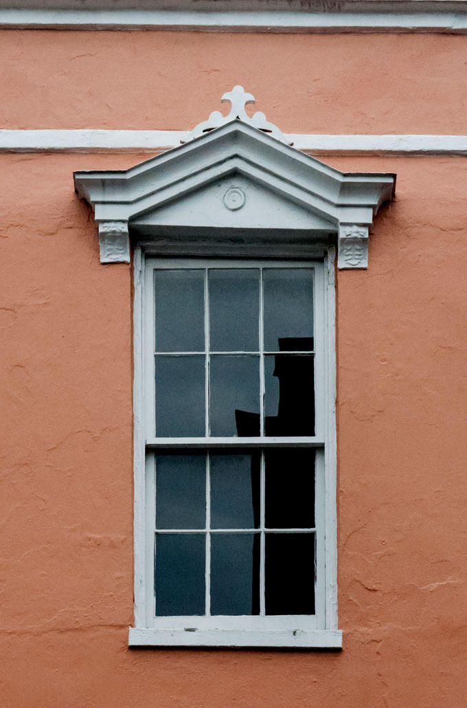 Colonial style window