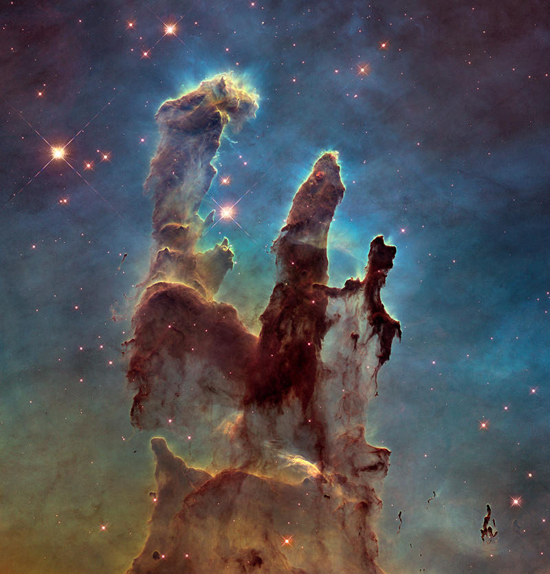 Pillars of Creation, 2015