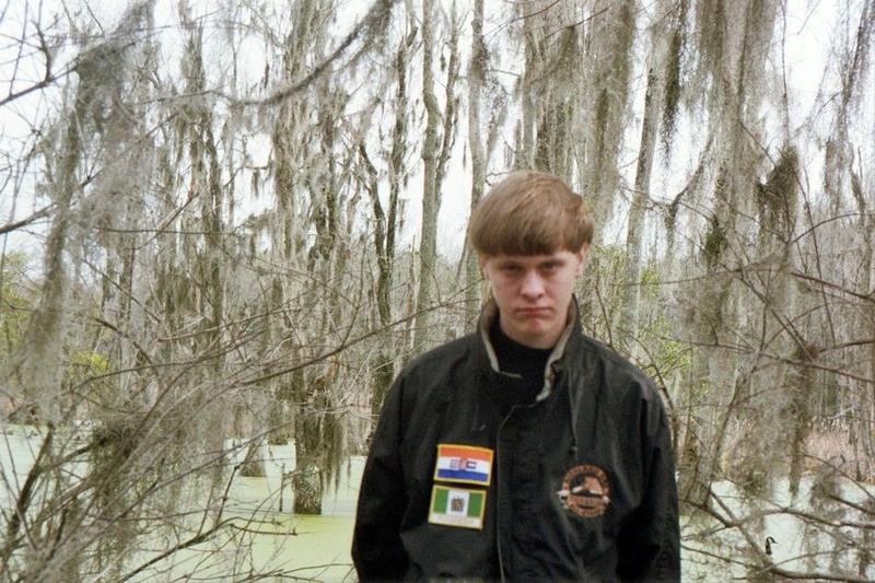 Undated photo of Dylann Roof from his Facebook page