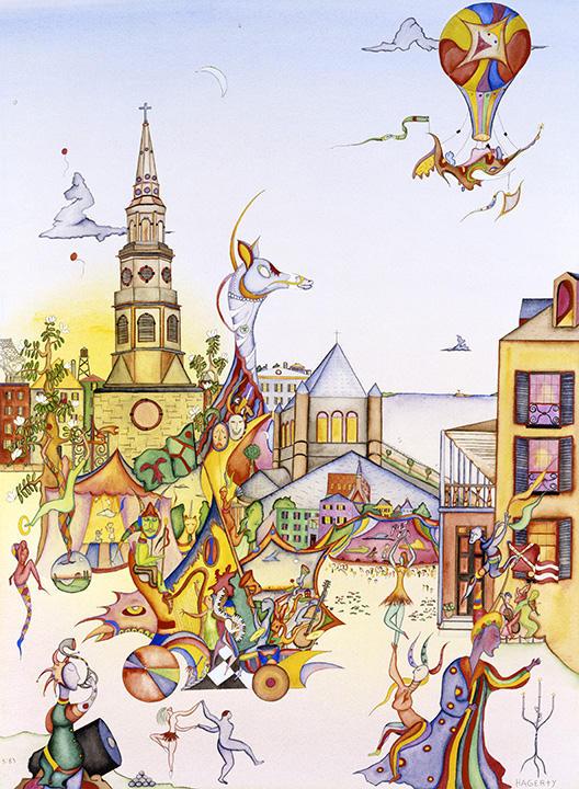 Piccolo Spoleto poster, 1984