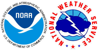 NOAA/National Weather Service logos