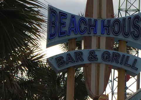 A Myrtle Beach Motel sign