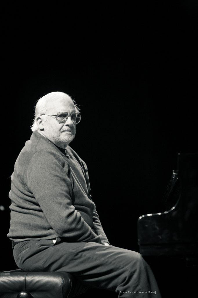 Paul Bley, Theaterzaal, Vooruit, Gent, BE, 05/15/2009.