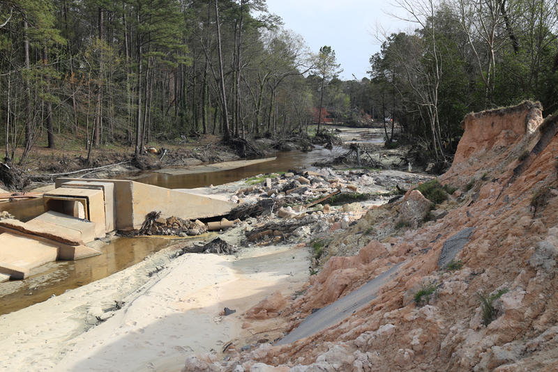 Cary Lake Dam in Columbia was one of 16 in the county to breach or fail during last year's historic rain event and flood.  Researchers at the College of Charleston say growth and development may have contributed to some of those failures.