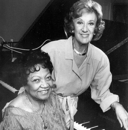 Rose Murphy and Marian McPartland