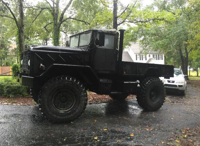 When the flood hit last October, Joanna Derrick wanted to find a way to help flood victims. She posted a picture of her husband's army-grade truck to Facebook and offered help. She ended up salvaging apartments with hundreds of volunteers helping who had