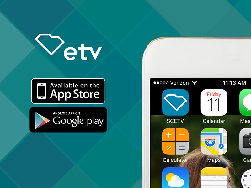 The ETV/SC Public Radio app.