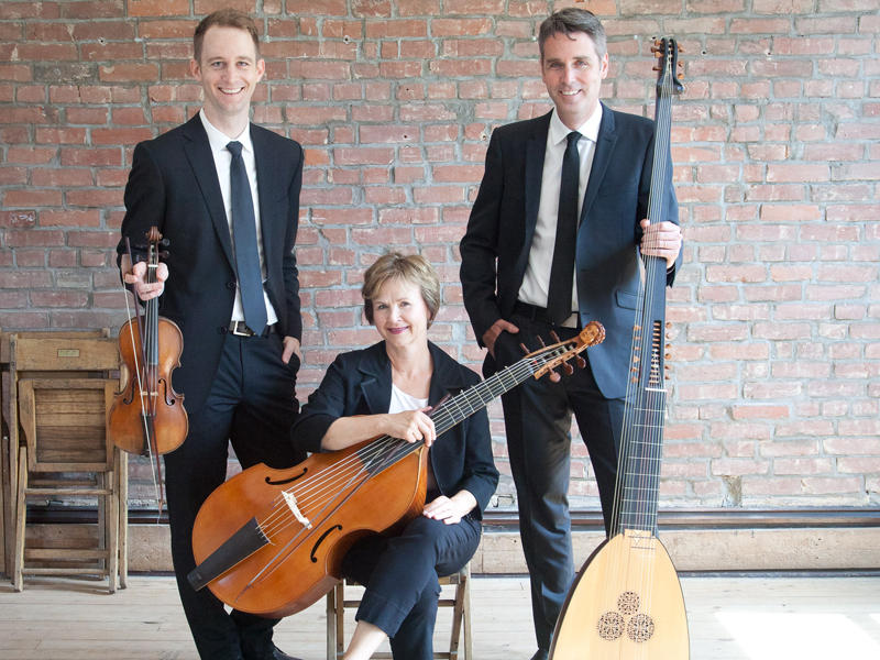 Chatham Baroque plays in the 2016 Piccolo Spoleto Early Music Series.