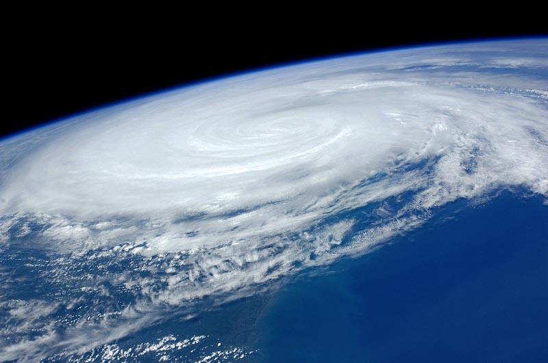File photo of Hurricane Irene, 2011.