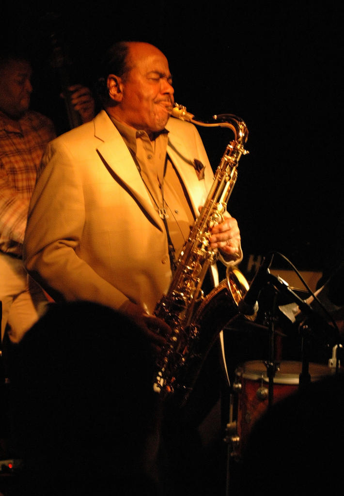 Benny Golson at Smoke, No. 2, 106th and Broadway, NYC, 3/11/06.