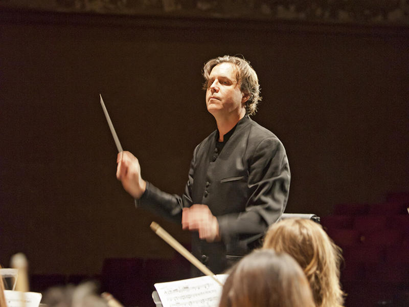 Spoleto Festival USA's Resident Conductor & Director of Orchestral Activities, John Kennedy.