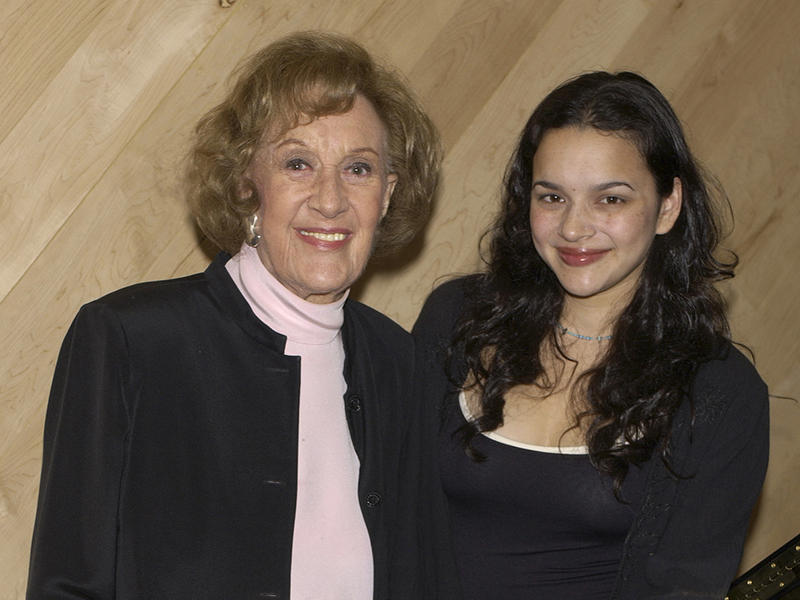 Marian McPartland and Norah Jones, 2002.
