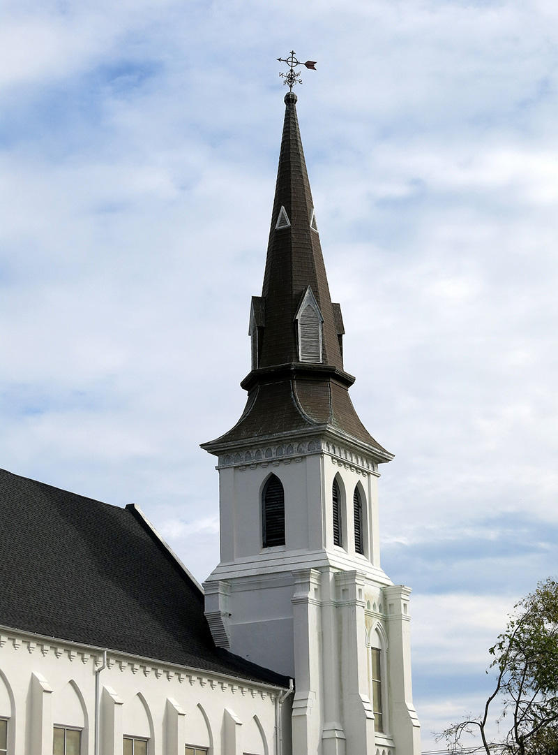 """Emanuel African Methodist Episcopal Church is the oldest AME church in the south. It is often referred to as """"Mother Emanuel""""."""