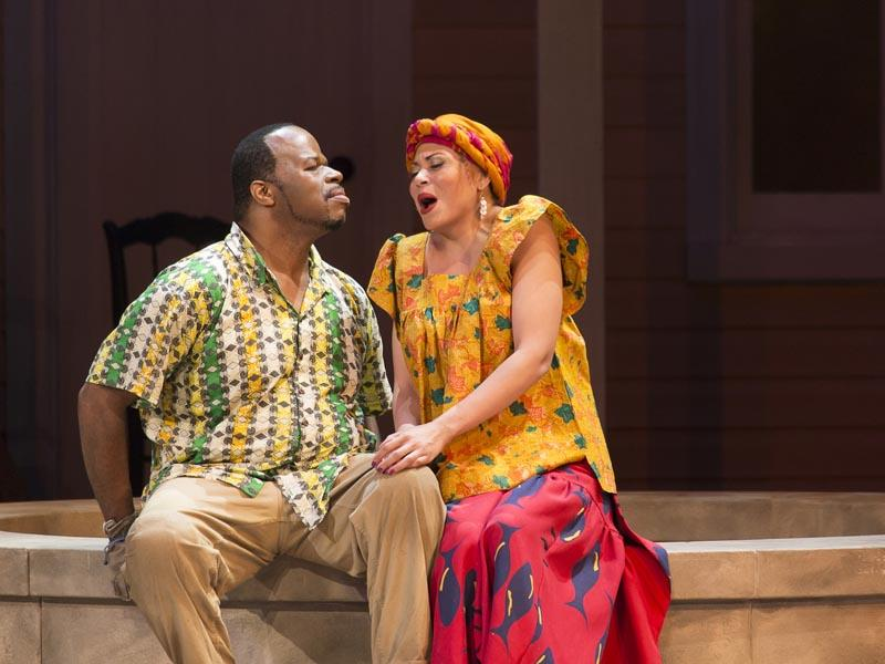 Porgy (Lester Lynch) and Bess (Alyson Cambridge).
