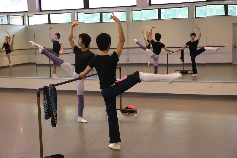 Classes have resumed at the Pavlovich School of Ballet after October's flood nearly destroyed the building.