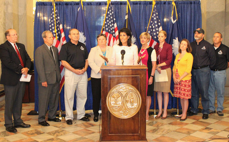 Gov. Haley, South Carolina Floods