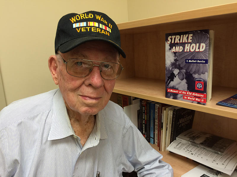T. Moffatt Burris, who died Jan. 4 at age 99, participated in numerous battles during World War II to help save the world.  He recalled some of those experiences in a 2016 interview with South Carolina Public Radio.