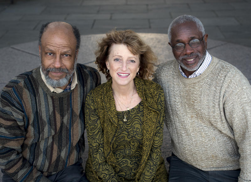 Bernard Powers, Marjory Wentworth, and Herb Fraizer, author of We Are Charleston.