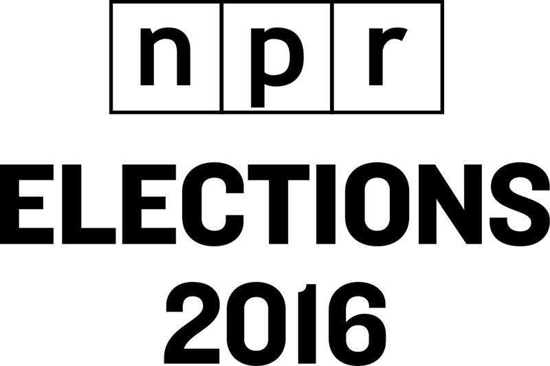 NPR Election 2016 logo
