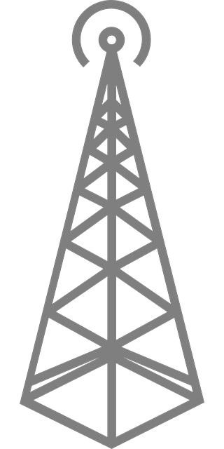 broadcast tower graphic