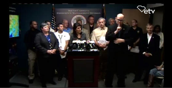 Gov. Haley Press Conference Oct.8