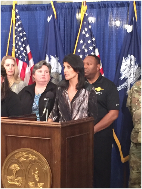 Gov. Haley Thursday afternoon press conference